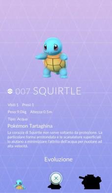 Pokédex - Dettaglio Squirtle