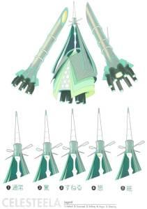 Pokémon Sole e Luna concept Ultracreature 5