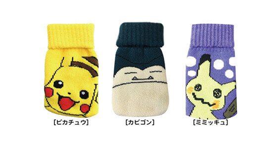 Pokémon Center calzini Snorlax Pikachu e Mimikyu