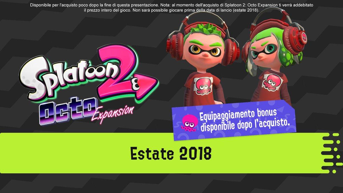 Splatoon 2 si rinnova con un aggiornamento gratuito e il DLC Octo Expansion