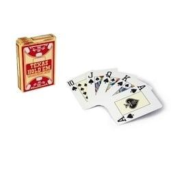 Copag Texas Hold'em Gold Jumbo (röd)