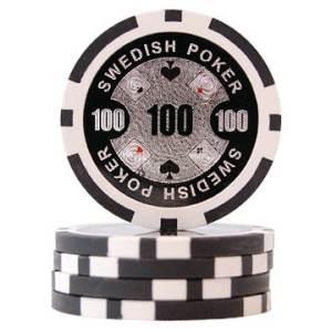 Swedish Poker Svart 100
