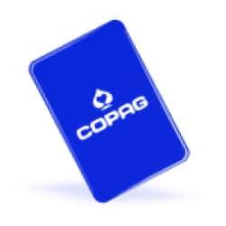Copag cut card - Blå