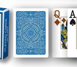 Modiano Texas Poker Hold'em - Blå