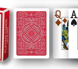Modiano Texas Poker Hold'em - Röd