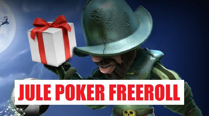 Unibet Poker jule freeroll med 2000 kr. i puljen