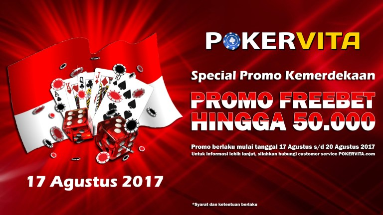 Freechips Poker Kemerdekaan