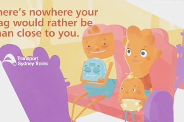 Poke The Bear - Sydney Trains Animation