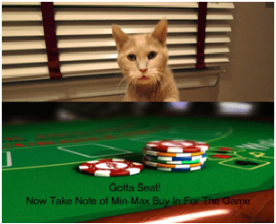 Having A Seat At Poker