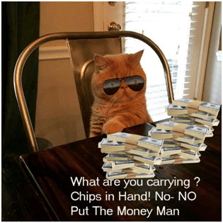Having Cash At Poker