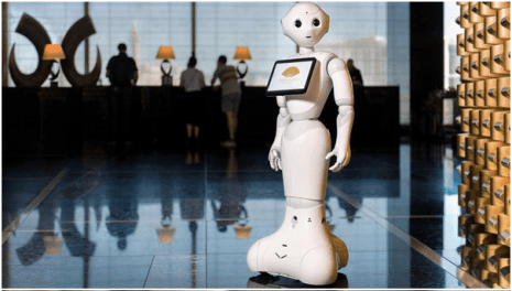 Robots working at Las Vegas Casinos