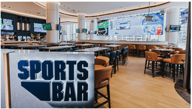 Sports bar at Star Gold Coast