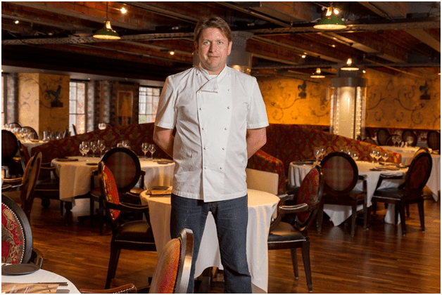James Martin at Manchester 235 Casino
