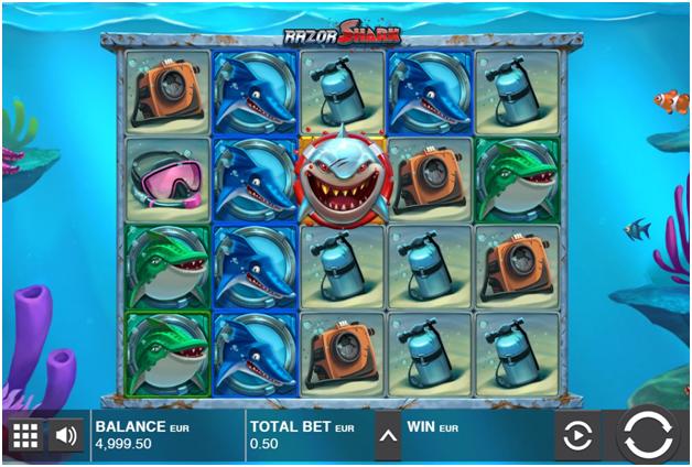 Razor Shark Pokies