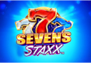 Sevens Staxx Pokies with 1024 ways to win