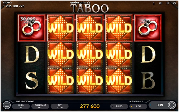 Two Themes of Taboo slot