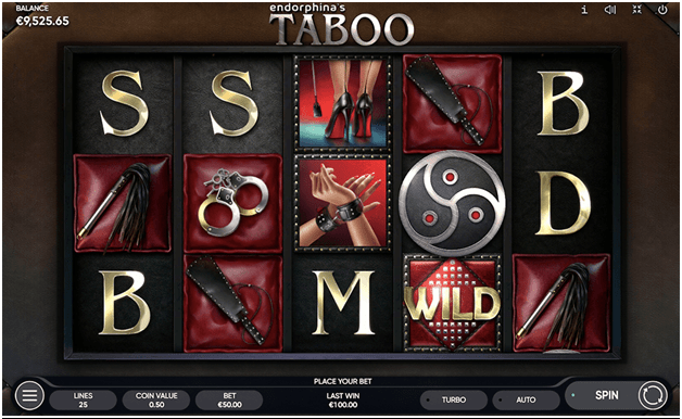 What are the game symbols of Taboo