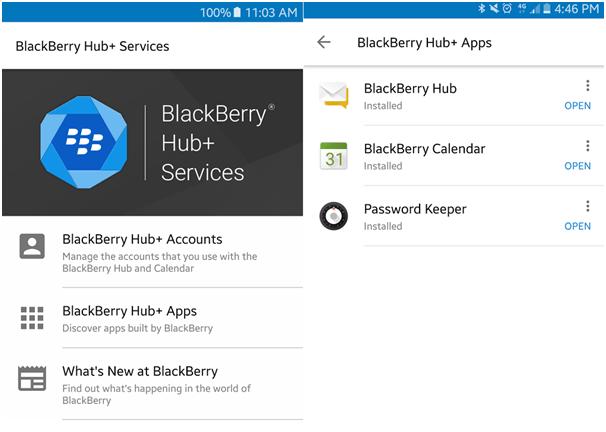 BlackBerry Hub