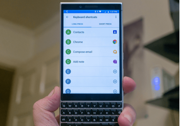 Blackberry Key Two Tips