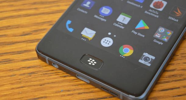 Blackberry Motion- Hardware