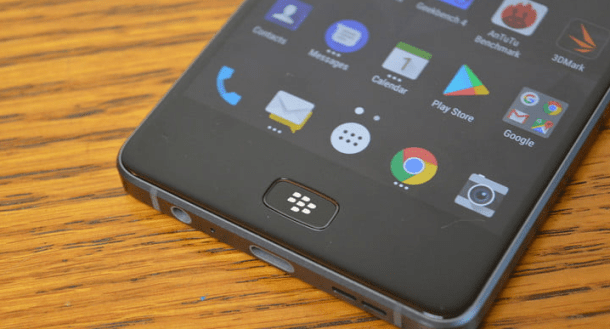 Blackberry Motion- Hardware