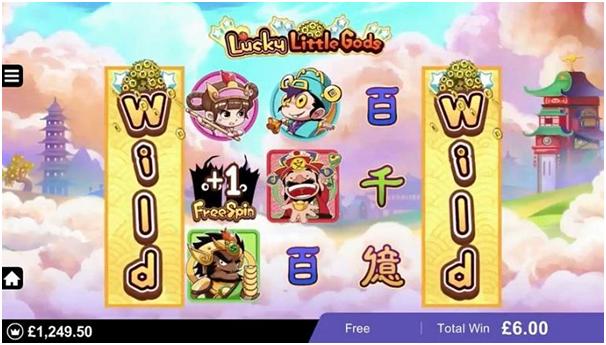 Lucky Little Gods- Bonuses