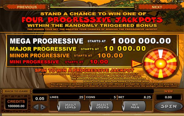 Mega Moolah jackpots