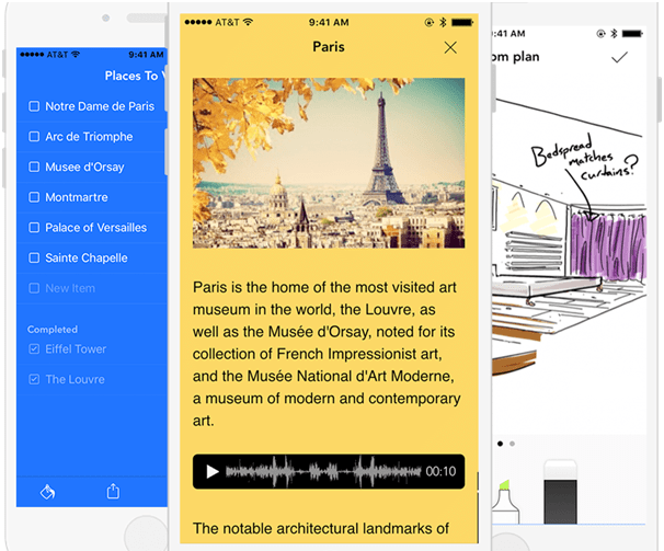 Note taking apps for Android