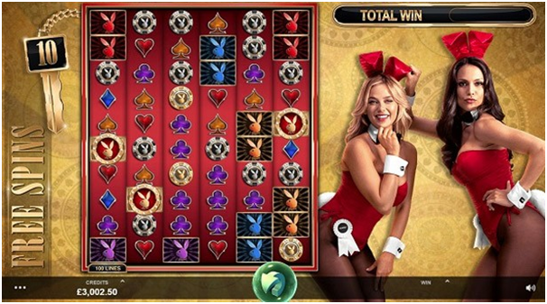 Playboy Gold Pokies features