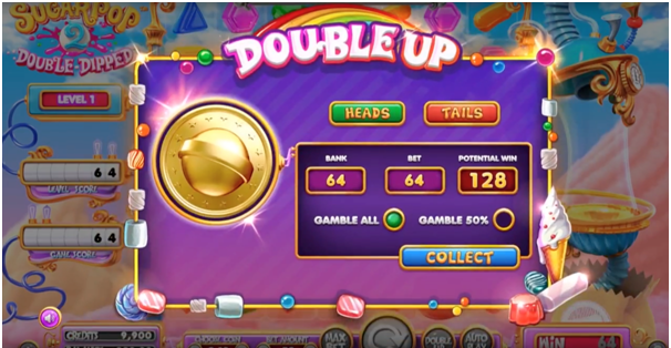 Sugar pop 2 Double Dipped pokies game play