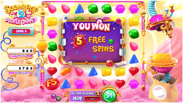 Sugar pop 2 pokies free spins