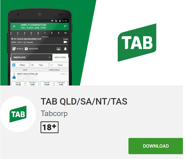 Tab betting app gambling with bitcoins legal