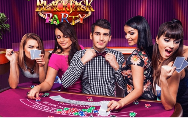 How to play live dealer blackjack party with your mobile?