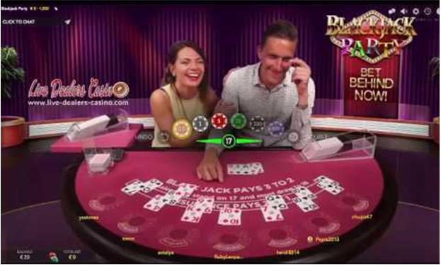 two dealer live game