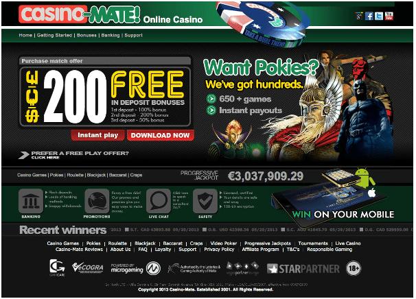 Casino Mate Site