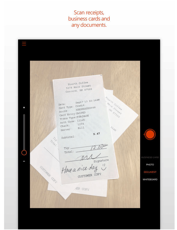 Office lens app from microsoft now you can have for your ipad its office lens document scanning app for apples ipad tablet in january 2017 office lens initially launched as a windows phone exclusive and in 2015 reheart Images