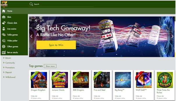 7 reels casino for iPad