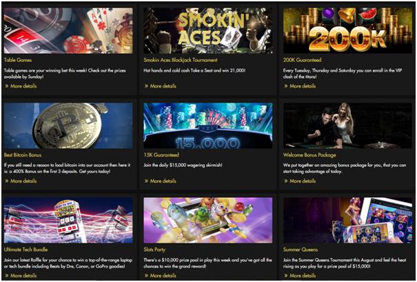 Rich Casino bonuses for iPad