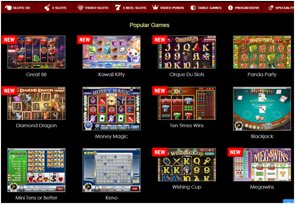 Superior casino games for iPad