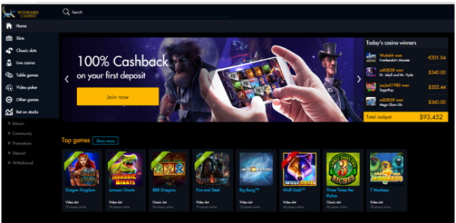 Winward casino for iPad