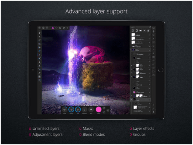 Affinity Photo app features