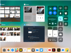How to customize control center in iPad