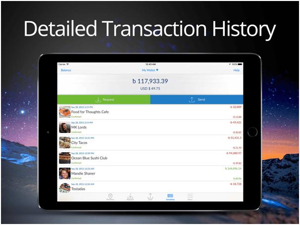 AirBitz App - The bitcoin wallet for iPad