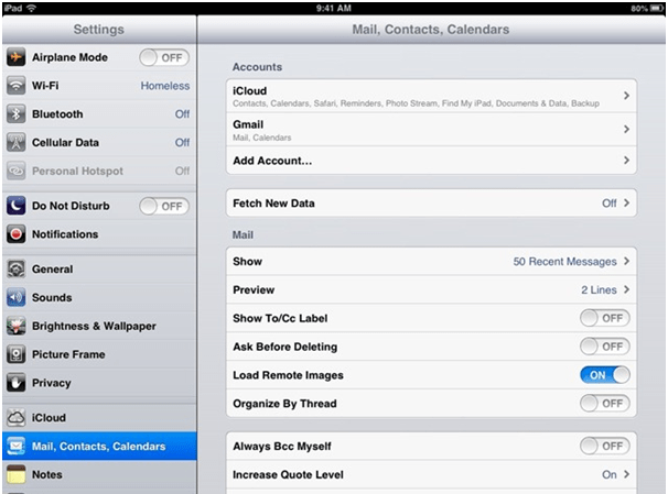 Customize your iPad