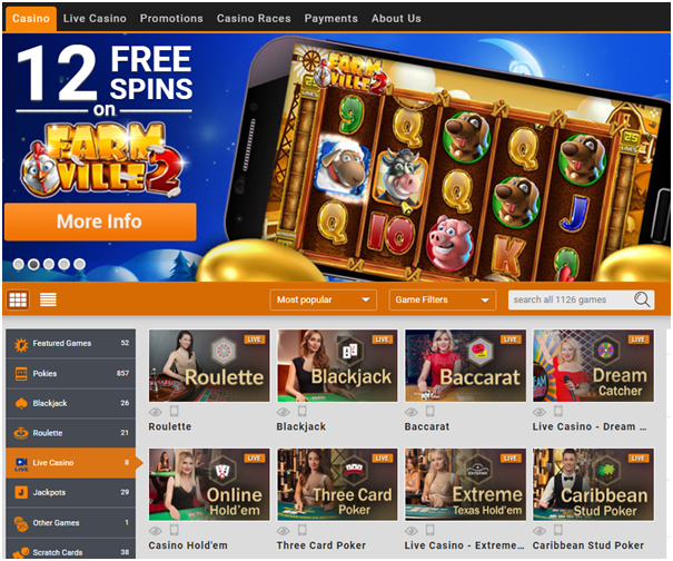Emu Casino - Play real time pokies in AUD