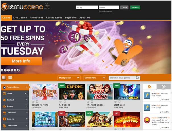 Emu iPad casinos to play pokies with AUD
