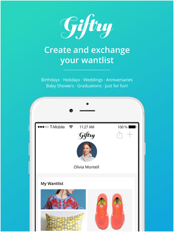 Giftry app