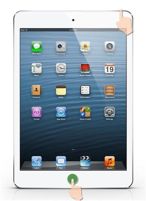 reboot iPad