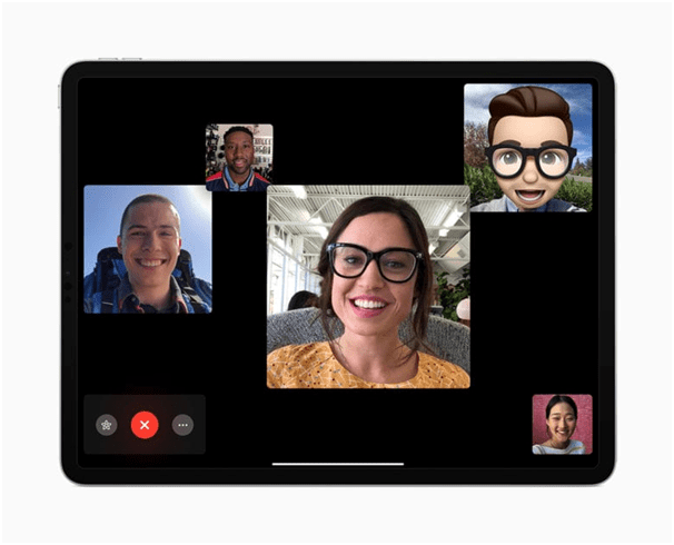Group Facetime in iPad
