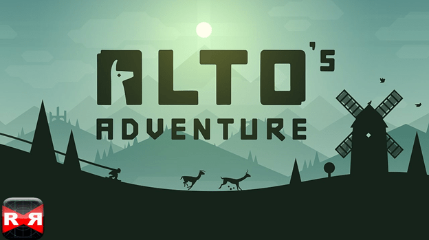 Alto's adventure on iPad